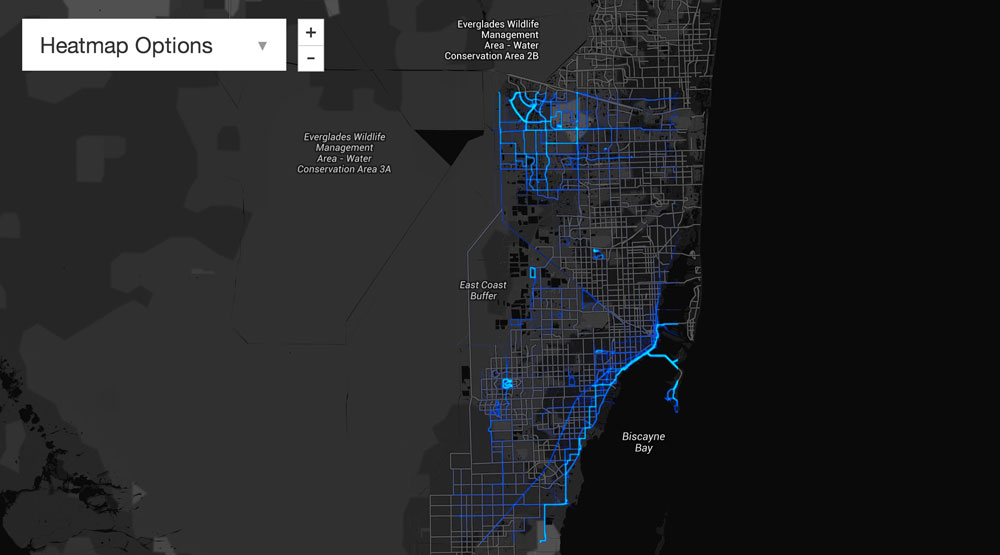 Where to Bike and Run South Florida by EMH3.com luxury real estate