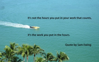 Sam Ewing Quotes presented by EMH3.com Luxury Real Estate