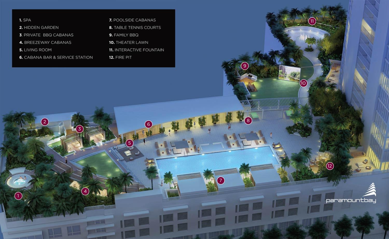 Paramount Bay Miami West Pool