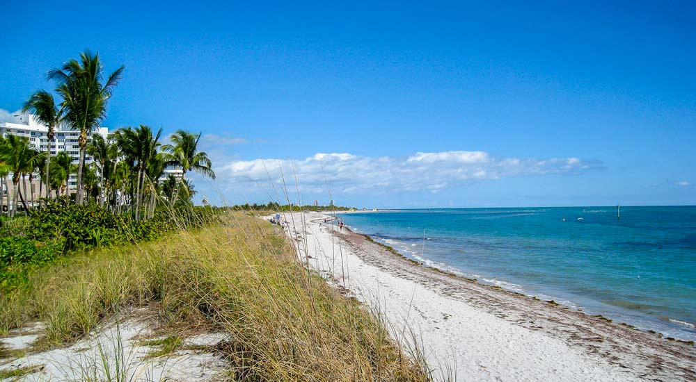 Key Biscayne Beach near Crandon Park