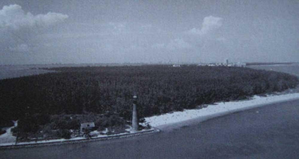 Key Biscayne Before Hurricane Andrew