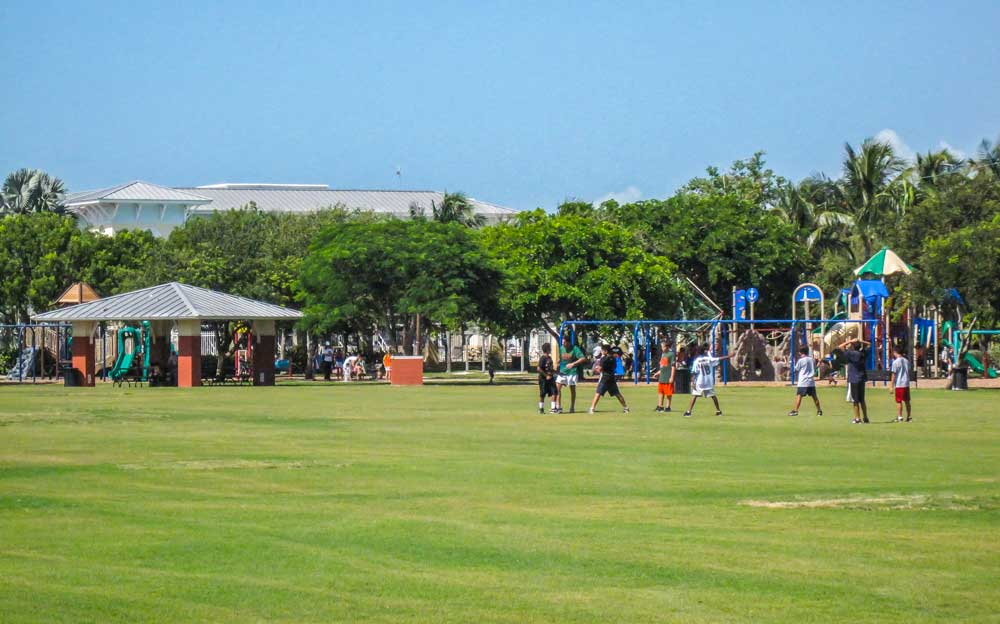 Key Biscayne Park and playgrounds