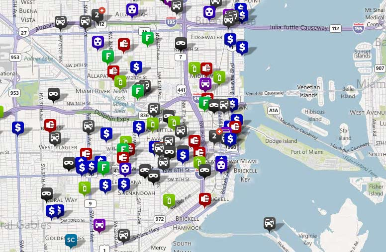 Miami Crime Map Showing Crime Statistics On An Interactive Map on nevada crime map, columbus crime map, cancun crime map, saint paul crime map, los angeles county crime map, wyoming crime map, regina crime map, el paso crime map, san francisco neighborhood crime map, henderson crime map, kentucky crime map, saint petersburg crime map, bridgeport crime map, tallahassee crime map, south dakota crime map, dubai crime map, topeka crime map, lakeland crime map, lima crime map, alabama crime map,
