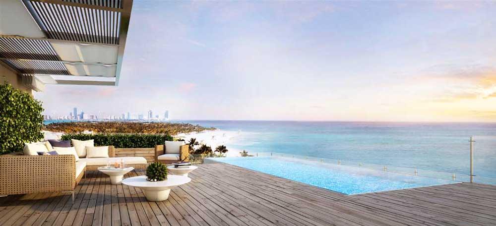 Oceana Key Biscayne Penthouse Terrace