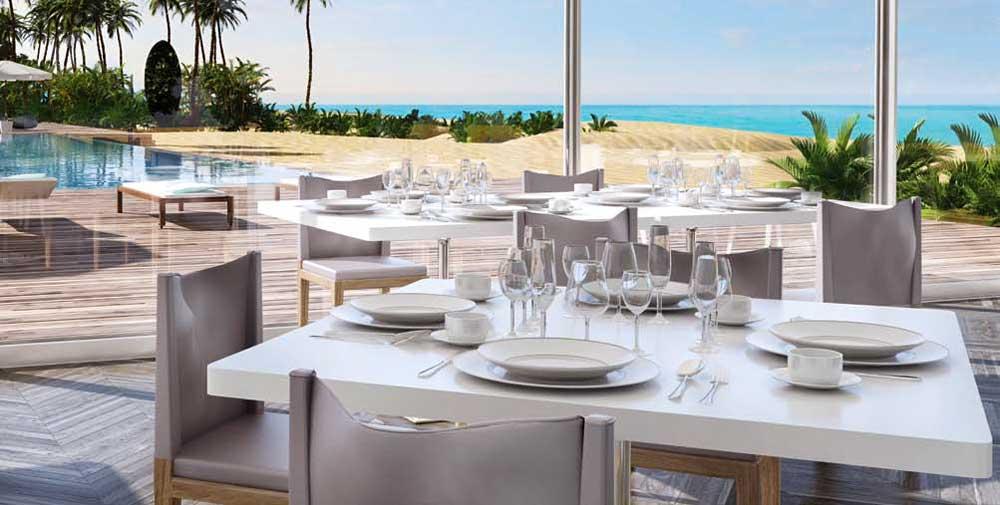 Oceana Key Biscayne Pool Side Restaurant