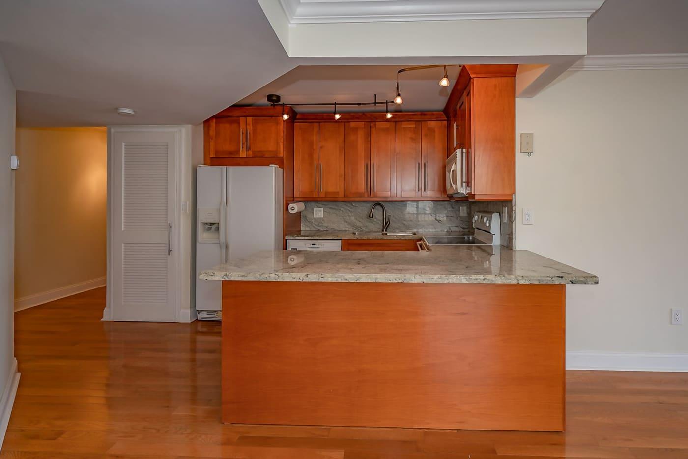 Kitchen Casa Del Rey Condo 306A