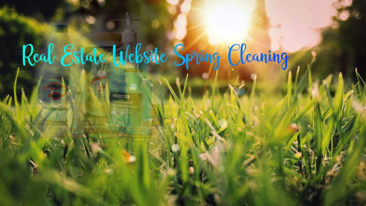Real Estate Website Spring Cleaning
